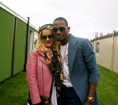 D'banj and Rita Ora Get Close and Snuggly at BBC Hackney Weekend Show in London