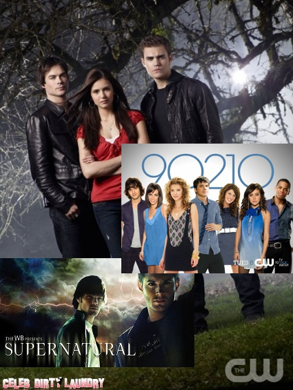 The CW Renews Hit Shows: VAMPIRE DIARIES, 90210, and SUPERNATURAL Will Be Around For Another Season!