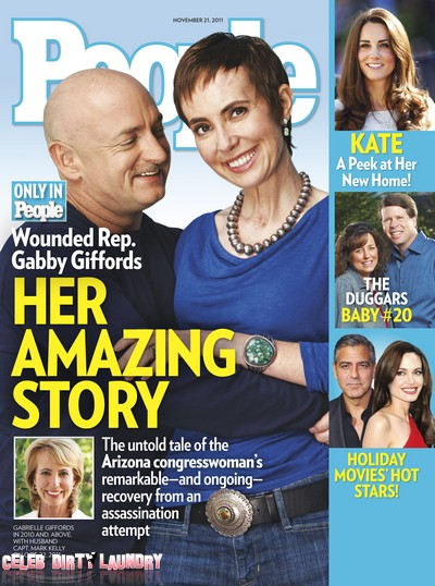 People Magazine: Gabrielle Giffords' Incredible Comeback (Photo)