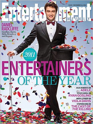 Daniel Radcliffe Is Entertainment Weekly's ENTERTAINER Of The Year!