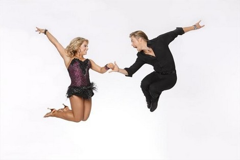 Shawn Johnson Dancing With The Stars All-Stars Fox Trot Performance Video 9/24/12