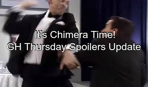 General Hospital Spoilers: Thursday, May 25 – Sonny Shocks Carly, Ava Runs for Her Life - Chimera Device Shocks Port Charles
