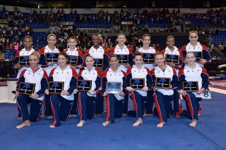 The US Olympic Ladies Gymnastics Team Loves Adele and Justin Bieber (Video)