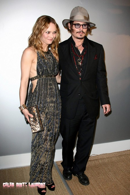 Johnny Depp and partner Vanessa Paradis Divorce Imminent