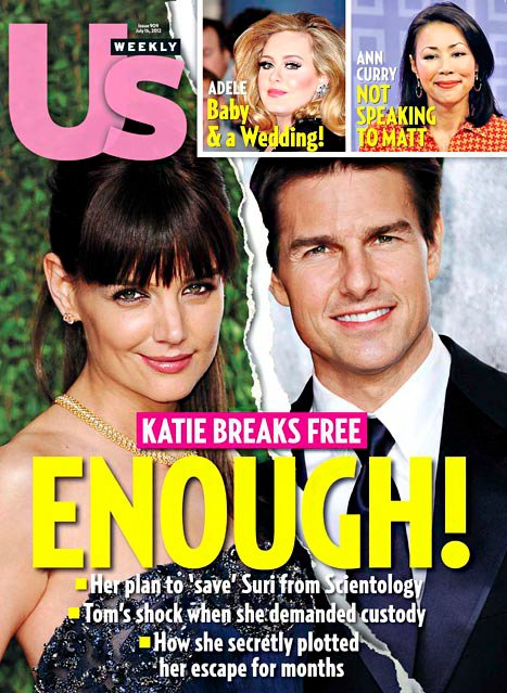 Katie Holmes Felt Like She Was In 'Rosemary's Baby' With A Crazed Tom Cruise (Photo)