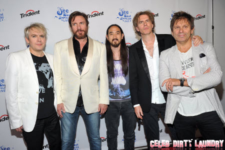 DJ Steve Aoki and Music Legend Duran Duran Make Music History with Trident Gum's 'See What Unfolds' Campaign (Photos)