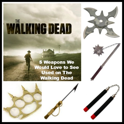 5 Weapons on The Walking Dead Season 5 We'd Love to See Used on Zombies