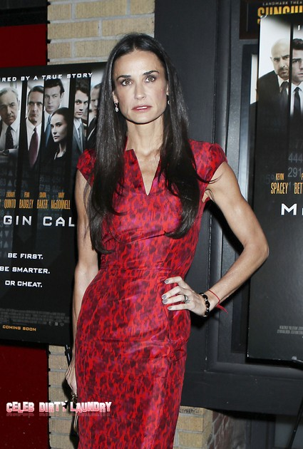 Demi Moore Rushed To Hospital With Drug Overdose