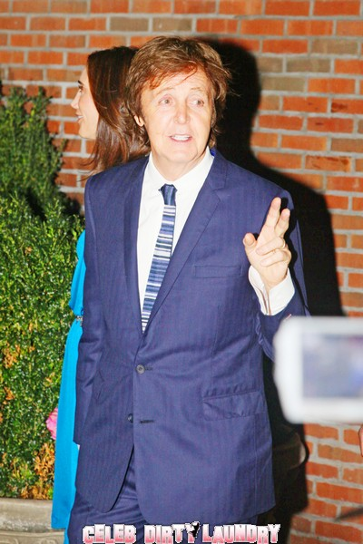 Paul McCartney Pulls All The Celebs To His New York Marriage Party (Photos)