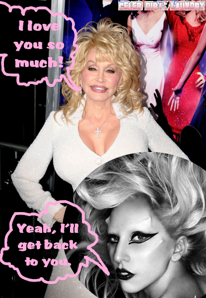 "Dolly Parton Wants To Do A Duet With Lady Gaga: ""We'd Be Fun Together!"""
