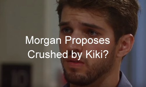 'General Hospital' Spoilers: Morgan Proposes – Kiki Shocked and Conflicted – What Will She Do?