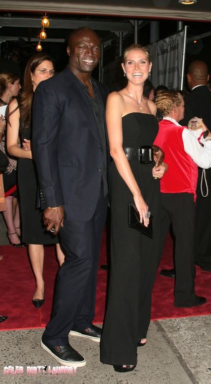 Heidi Klum And Seal Still Wearing Wedding Rings - No Divorce Yet