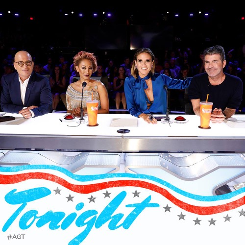Mel B stabs Simon Cowell in 'America's Got Talent' act