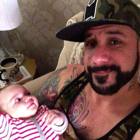 Backstreet Boy's A.J. McLean Bald No Longer - Hair Transplant Success - (PHOTOS)