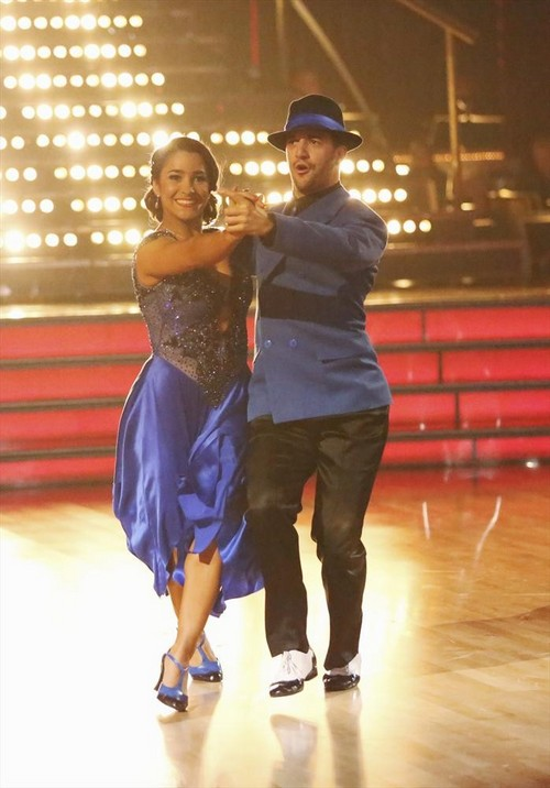 Aly Raisman Dancing With the Stars Viennese Waltz Video 4/1/13