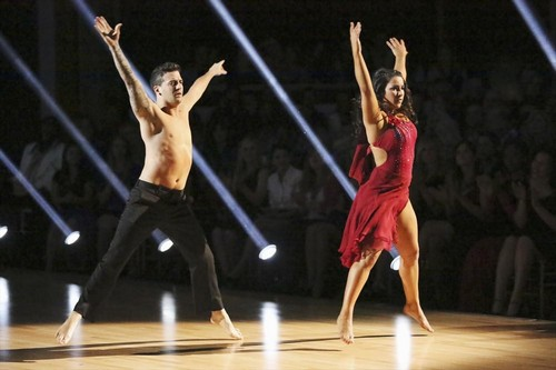 Aly Raisman Dancing With the Stars Samba Video 4/15/13