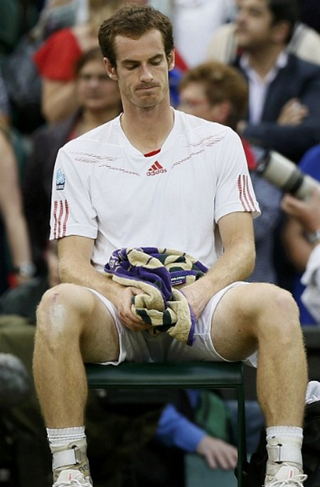 Andy Murray A Disgrace On Centre Court (Photos)