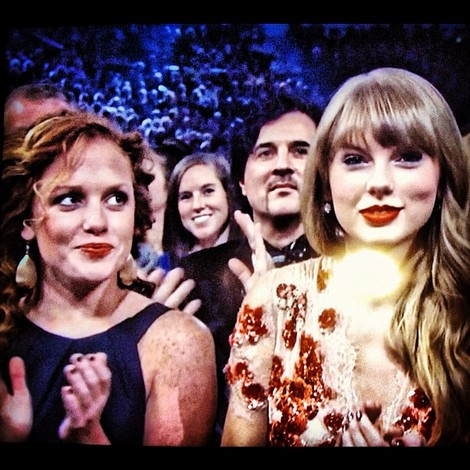 Abigail Anderson and Taylor Swift