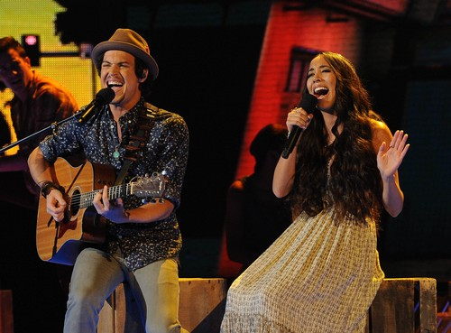 X Factor Winners Alex Kinsey and Sierra Deaton Getting Weekly Sonny and Cher Style TV Show