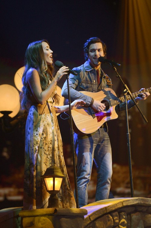"Alex & Sierra The X Factor ""Say Something"" Video 12/4/13 #TheXFactorUSA"