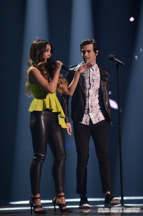 "Alex & Sierra The X Factor ""Gravity"" Video 12/11/13 #TheXFactorUSA"