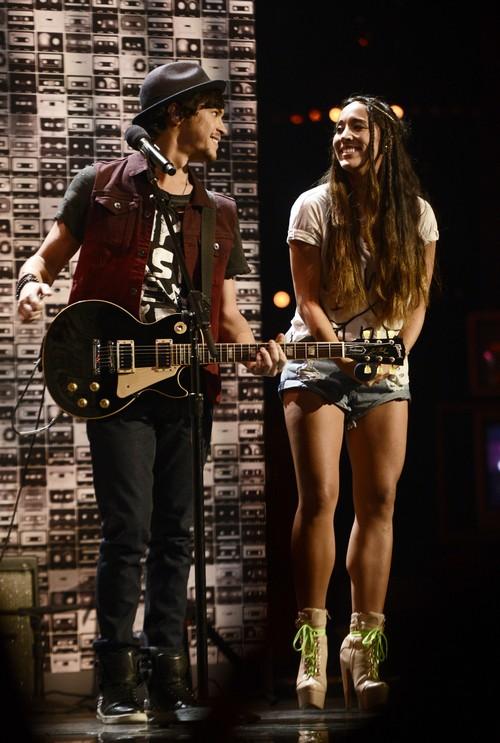 """Alex & Sierra The X Factor """"Best Song Ever"""" Video 11/20/13 #TheXFactorUSA"""