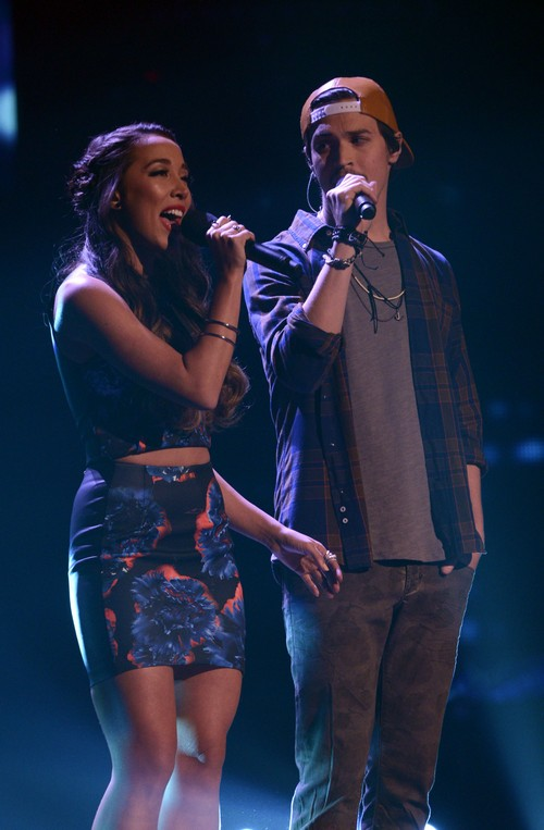 "Alex & Sierra The X Factor ""Give Me Love"" Video 12/18/13 #TheXFactorUSA"