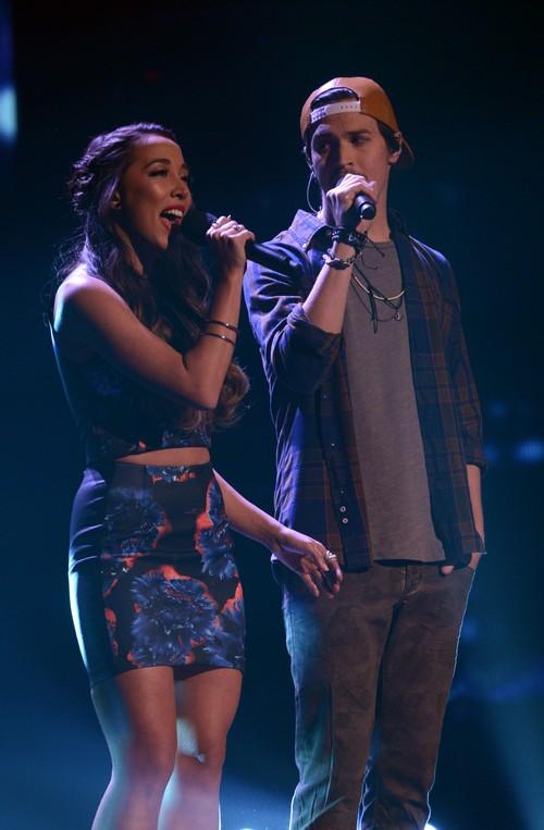 "Alex & Sierra The X Factor ""Give Me Love"" Video 12/18/13 #TheXFactorUSA"