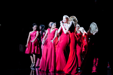 The American Heart Association Kicks Of Mercedes-Benz New York Fashion Week With Red Dress Collection #GoRed (PHOTOS)