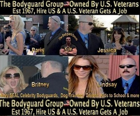 All Star Celeb Bodyguard Kris Herzog and The Navy SEAL Bodyguard Group Need Your Support!