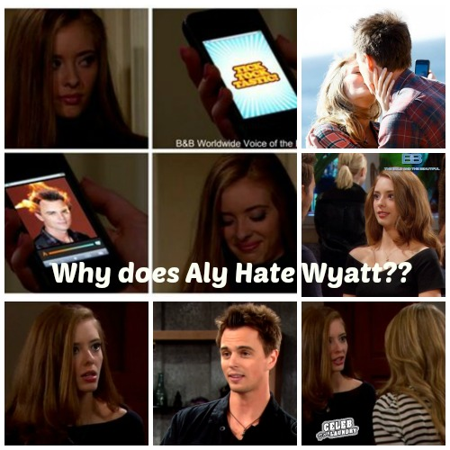 Bold and the Beautiful Spoilers – Aly Forrester Is NOT Crazy, So Why Does She Hate Wyatt?