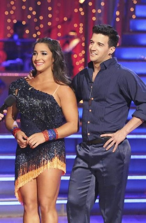 Aly Raisman Dancing With the Stars Foxtrot Video 4/22/13