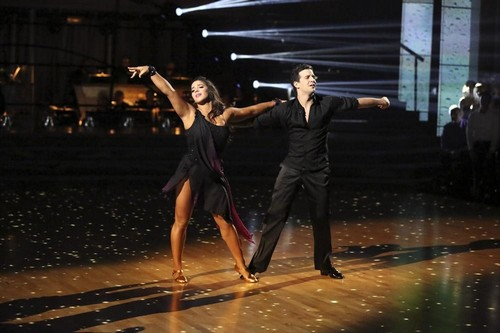 Aly Raisman Dancing With the Stars Freestyle Video 5/20/13