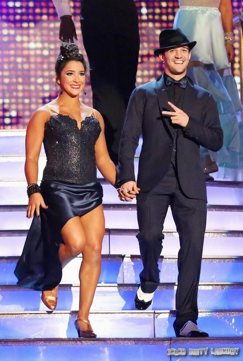 Aly Raisman Dancing With the Stars Afro Jazz Video 5/13/13