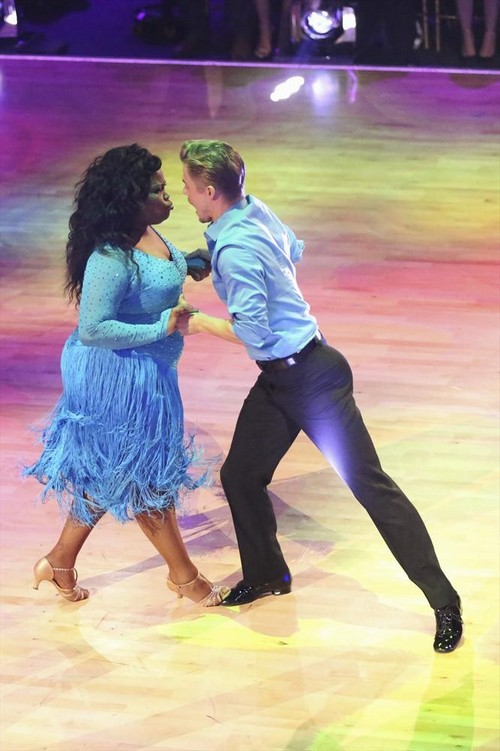 Amber Riley Dancing With the Stars Paso Doble Video 10/28/13