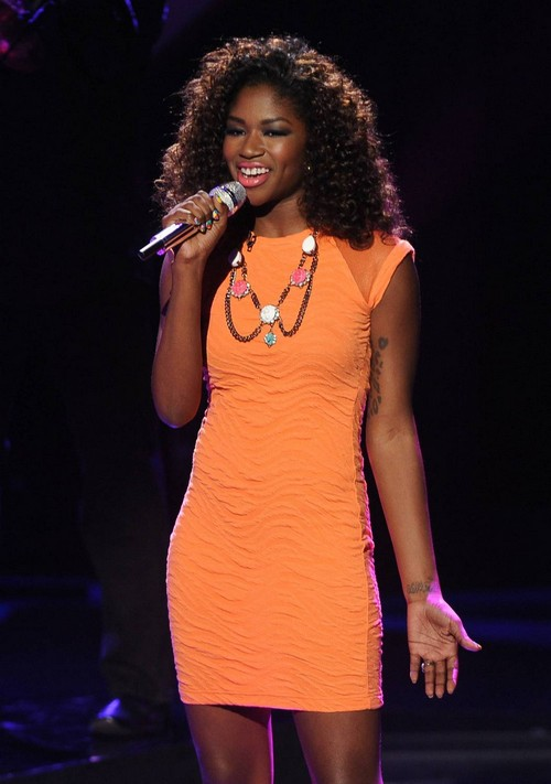 """Amber Holcomb American Idol """"Just Give Me A Reason"""" Video 5/1/13"""