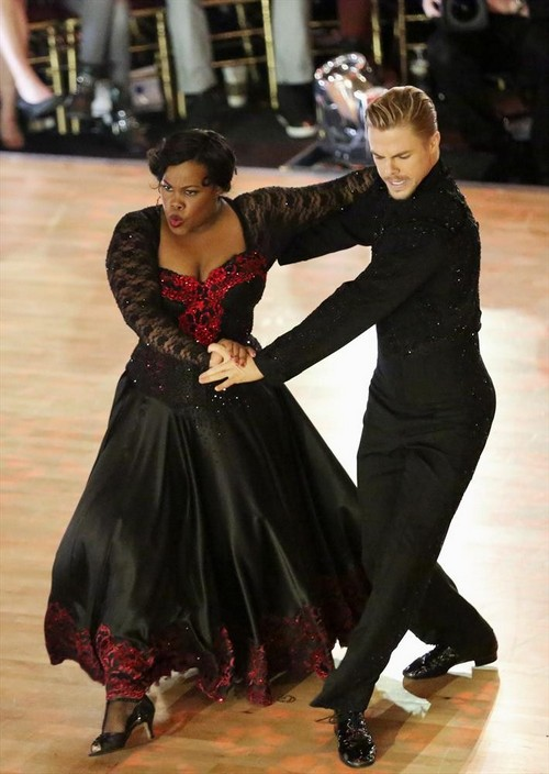 Amber Riley Dancing With the Stars Rumba Video 11/4/13