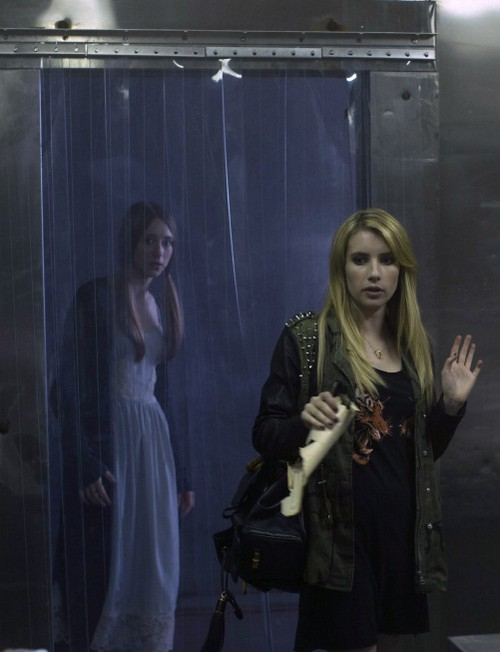 Emma Roberts Acting Like a REAL Wicked Witch on American Horror Story Coven?