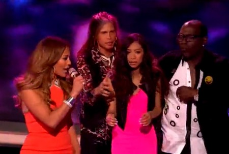 Jessica Sanchez VOTED out! Judges Save Her! (Video)