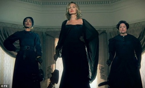 American Horror Story: Jessica Lange, Kathy Bates and Angela Bassett - The Battles Of The Divas