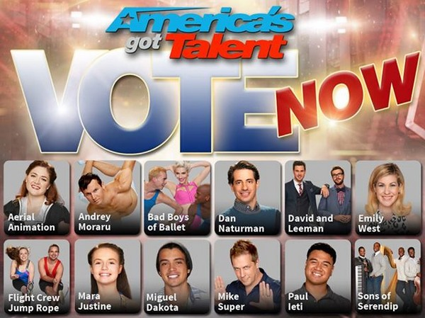 America's Got Talent 2014 Recap Results Week 5 Elimination: Season 9 Episode 19 - First Six of Top Twelve Selected