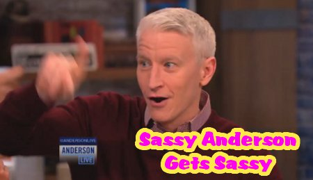 "Anderson Cooper Claims The Bachelor is ""Fake and Gay"" (Video)"