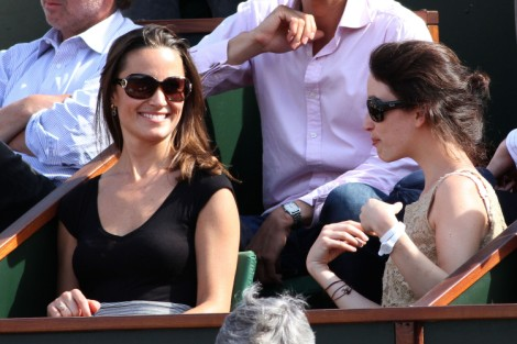 CDL Exclusive: Pippa Middleton And Andre Balazs Together At US Open (Photo) 0904