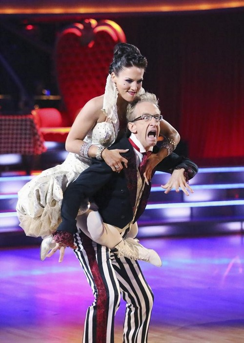 Andy Dick Dancing With the Stars Cha Cha Cha Video 4/1/13