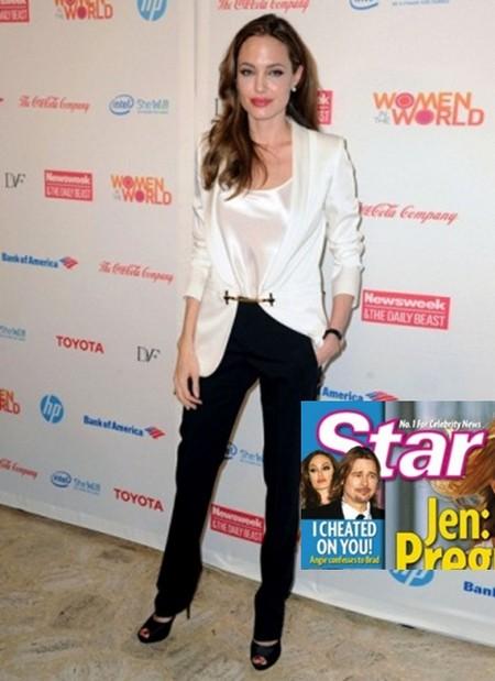 Angelina Jolie Admits Cheating On Brad Pitt – Relationship Doomed (Photo)