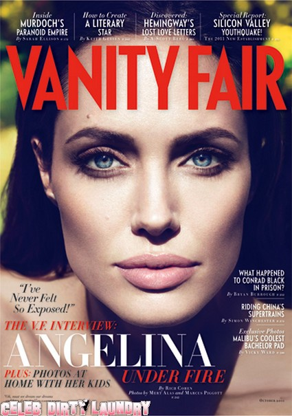 Angelina Jolie Reveals Her Secrets And Fears