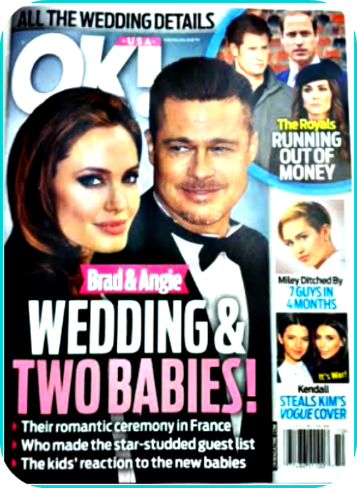 Angelina Jolie and Brad Pitt Two Babies and a Wedding in France (PHOTO)
