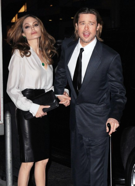 Angelina Jolie, Brad Pitt Wedding On Hold, Is The Bride Getting Cold Feet? 1011