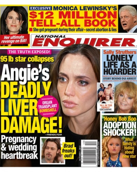 Report: Angelina Jolie Wedding Postponed - Liver Transplant Bombshell 0919