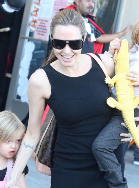Angelina Jolie Overdosing On Extreme Plastic Surgery Before Wedding To Brad Pitt 1213